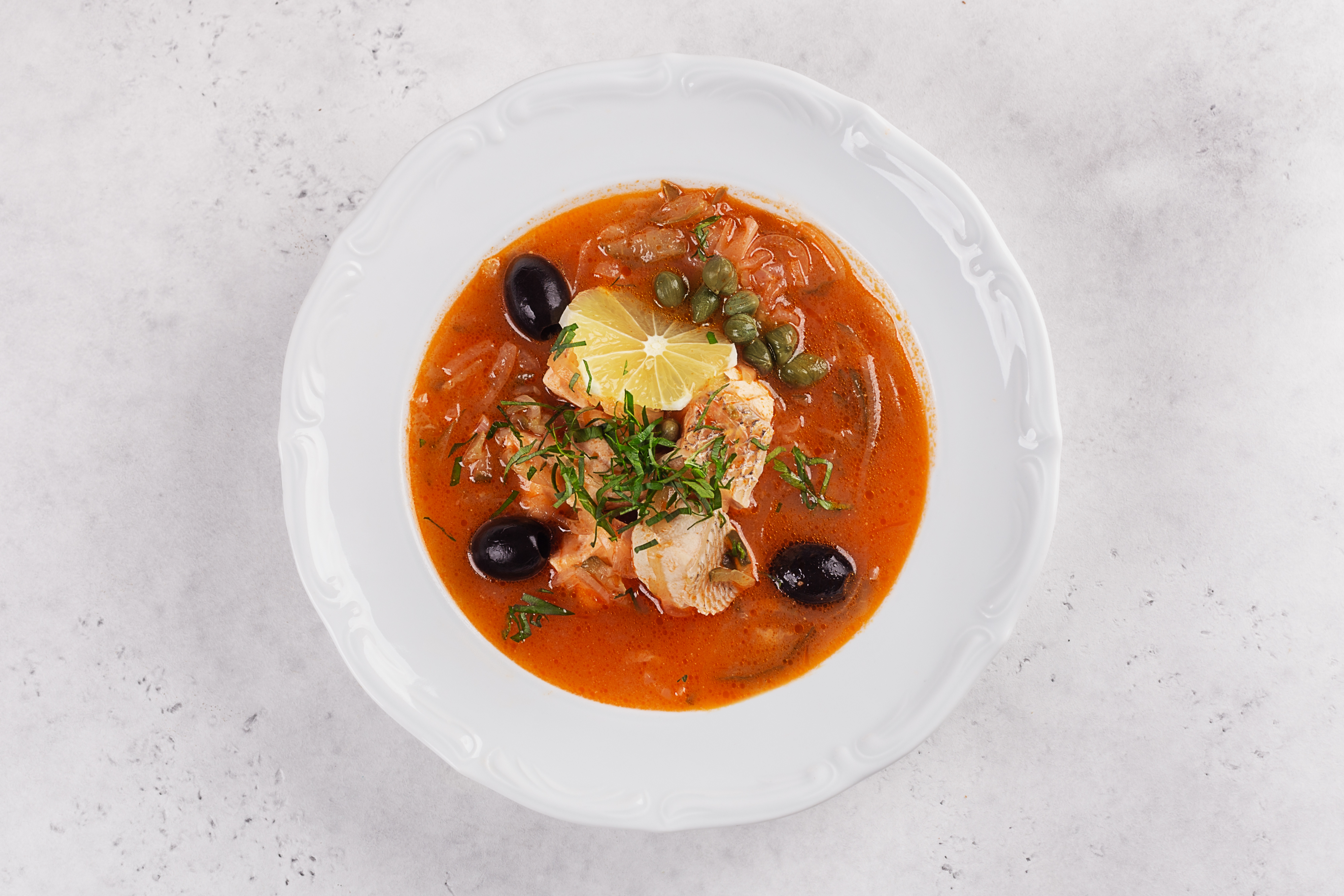 рыбная солянка рецепт приготовления фото гармонично